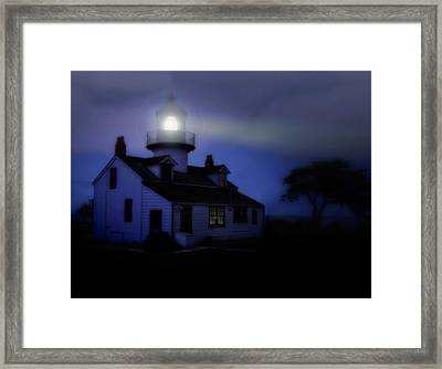 Point Pinos Lighthouse Framed Print by Utah Images