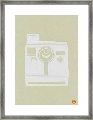 Polaroid Camera 3 Framed Print by Naxart Studio