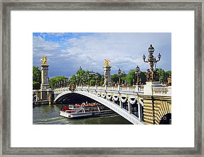 Pont Alexander IIi Framed Print by Elena Elisseeva