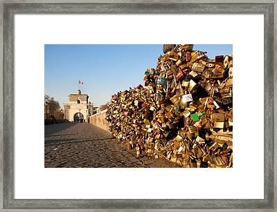 Ponte Milvio Framed Print by Fabrizio Troiani