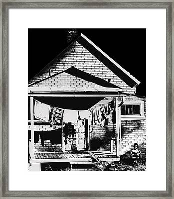 Poor Afro American Framed Print by Don Wolf