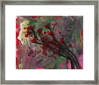Poppies Framed Print by  Abril Andrade Griffith
