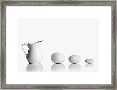 Porcelain Framed Print by Todor Vassilev