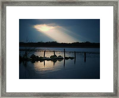Portneanalight Framed Print by Michelle O'Neill
