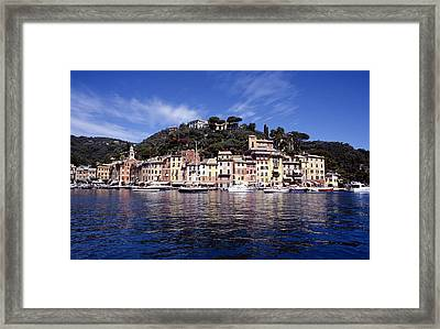 Portofino Italian Riviera Framed Print by Peter Phipp