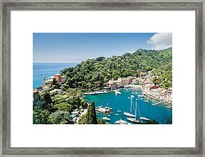 Portofino, Italy Framed Print by Alfredo J G A Borba