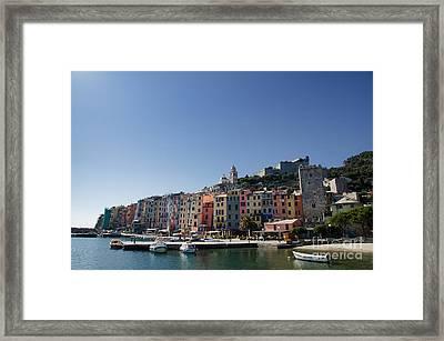 Portovenere Framed Print by Mats Silvan