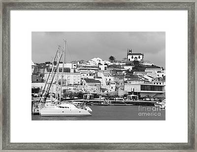 Portuguese City Framed Print by Gaspar Avila