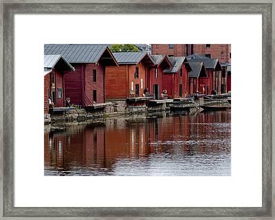 Porvoo Finland Framed Print by Stephanie Benjamin