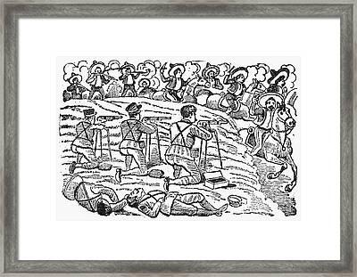 Posada: Battle, 1910-12 Framed Print by Granger