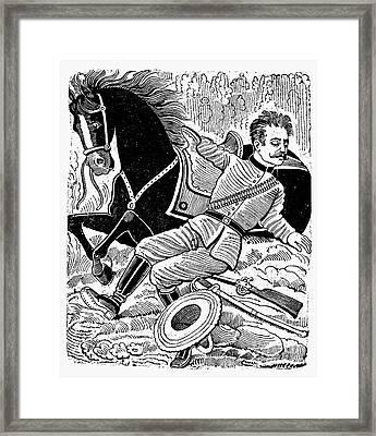 Posada: Dead Revolutionary Framed Print by Granger