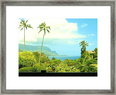 Post Card Perfect Framed Print by Sharon Farris