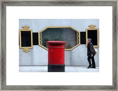Post Haste Framed Print by Jez C Self