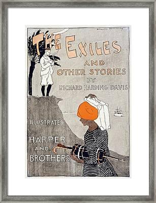 Poster Advertising Richard Harding Framed Print by Everett