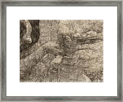 Potter In Historical Rembrandt Copper Framed Print by James Stanfield