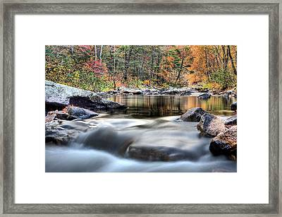 Pouring Framed Print by JC Findley