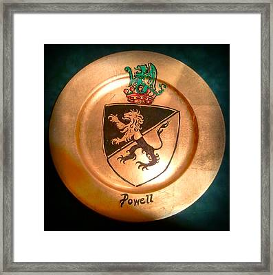 Powell Charger Framed Print by Nancy Rutland
