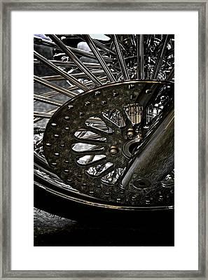 Power Wheel Framed Print by Odd Jeppesen
