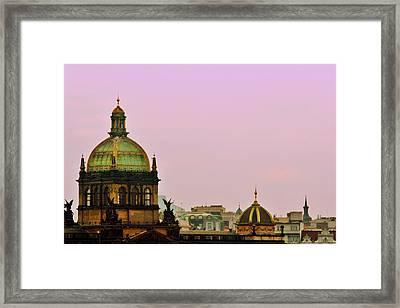 Prague - A Living Fairytale Framed Print by Christine Till