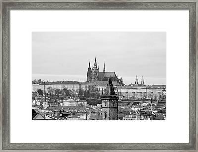 Prague - City Of A Hundred Spires Framed Print by Christine Till