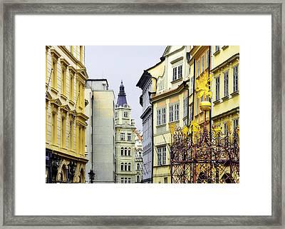 Prague - Walking In The Footsteps Of Kings Framed Print by Christine Till