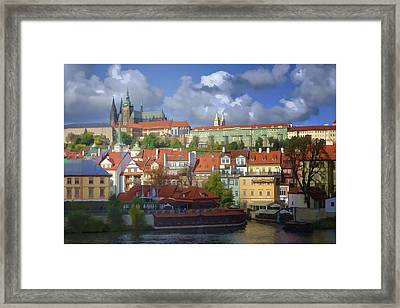 Prague Dreams Framed Print by Joan Carroll
