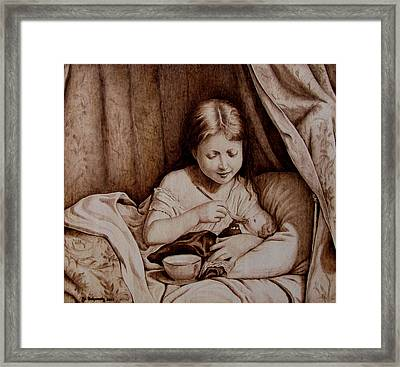 Precious Moments-no Border Framed Print by Jo Schwartz