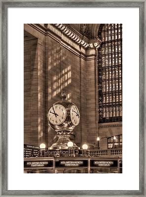 Precious Time Framed Print by Susan Candelario