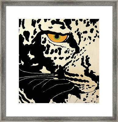 Preditor Or Prey Framed Print by Boyd Art