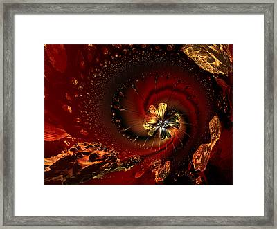 Preparing To Nest Framed Print by Claude McCoy