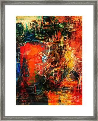 Prescription Framed Print by Fania Simon