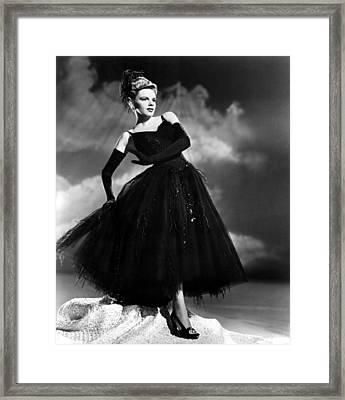 Presenting Lily Mars, Judy Garland, 1943 Framed Print by Everett