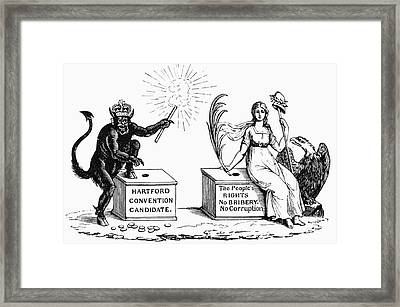 Presidential Campaign, 1816 Framed Print by Granger
