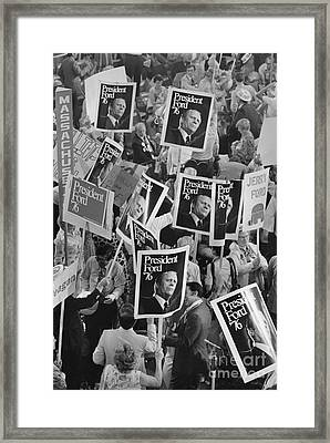 Presidential Campaign, 1976 Framed Print by Granger