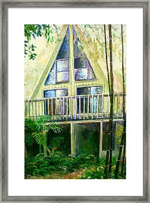 Presley House Framed Print by Lou Ann Bagnall