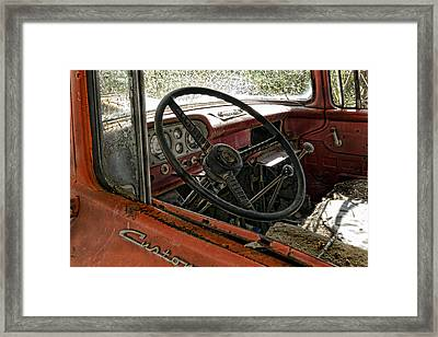 Previously Enjoyed Framed Print by Peter Chilelli