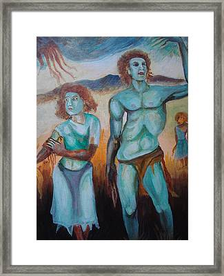 Princes And Zeus Framed Print by Prasenjit Dhar