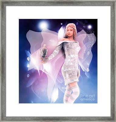 Princess Fairy Framed Print by Jutta Maria Pusl