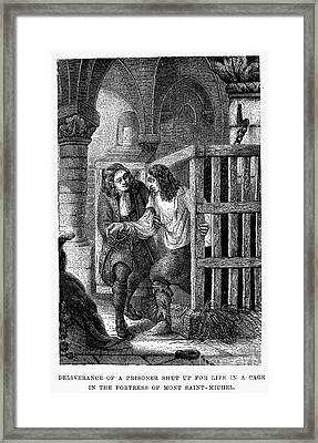 Prison: Cage, 17th Century Framed Print by Granger