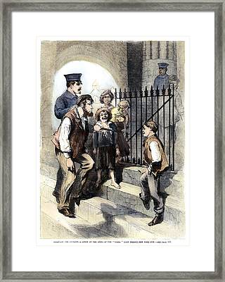 Prison: The Tombs, 1868 Framed Print by Granger
