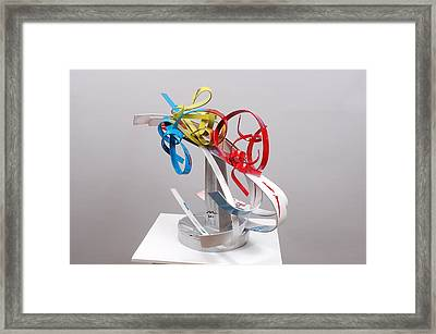 Privileged Emotions Framed Print by Mac Worthington