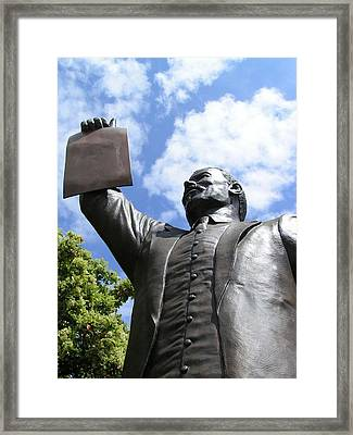 Proclamation Of Emancipation Framed Print by Sarah Broadmeadow-Thomas