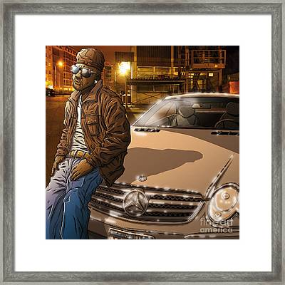 Project Dreams Framed Print by Tuan HollaBack