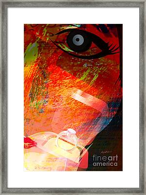 Promise Framed Print by Fania Simon