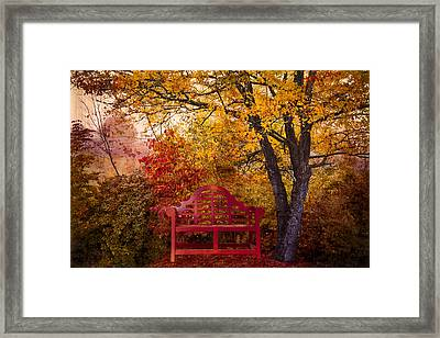Promises Made Framed Print by Debra and Dave Vanderlaan
