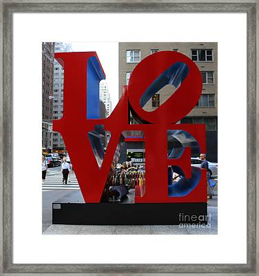 Protected By Love Framed Print by Lee Dos Santos