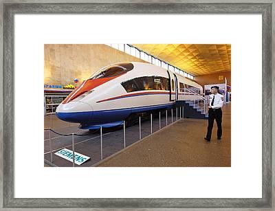 Prototype Siemens High-speed Train Framed Print by Ria Novosti