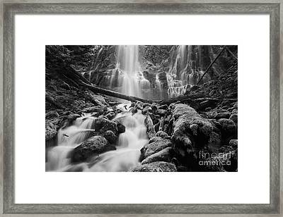 Proxy Falls Framed Print by Keith Kapple