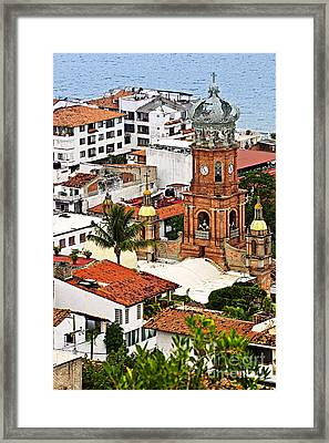 Puerto Vallarta Framed Print by Elena Elisseeva