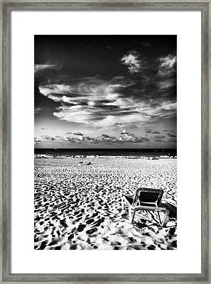 Punta Cana Lounge Framed Print by John Rizzuto